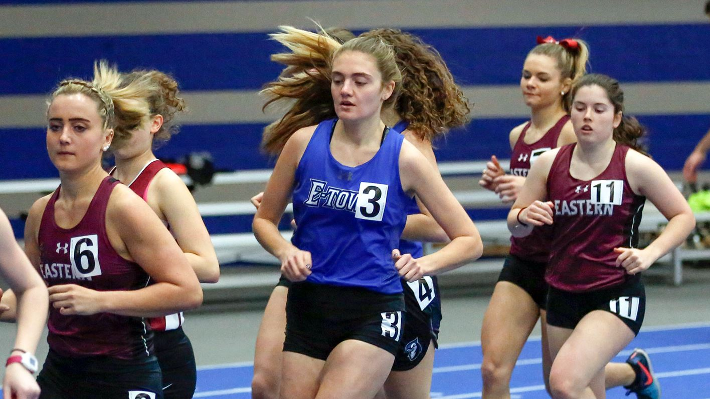 Women's track & field finishes second at Landmark Championships